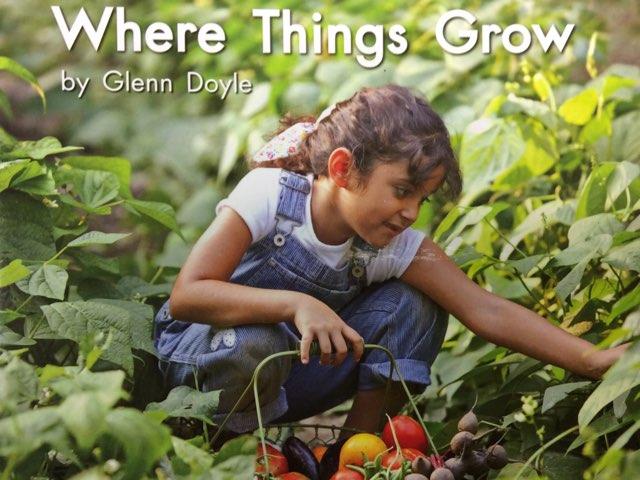 Where Things Grow LLI Green Book 9 C by Chanel Sanchez