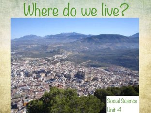 Where do we live? by Irene Arroyo
