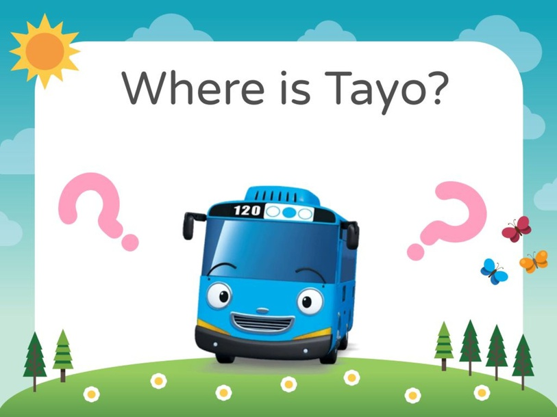 Where is Tayo? by Lam Hoi Mun