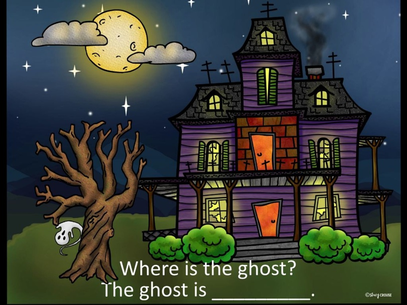 Where is the Ghost  by Ms. Jess