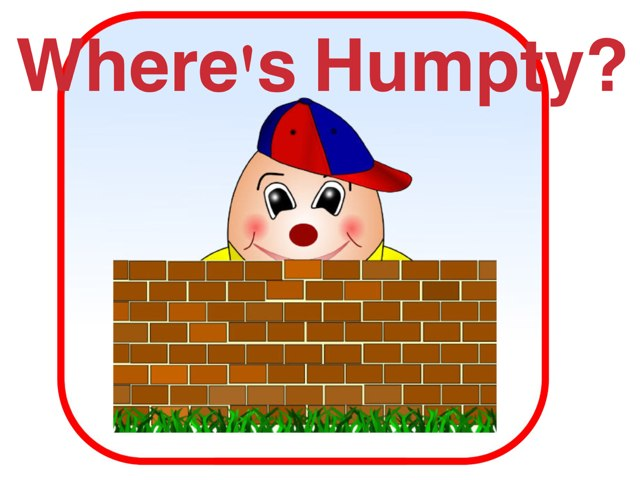 Where's Humpty by Kathie Ginman