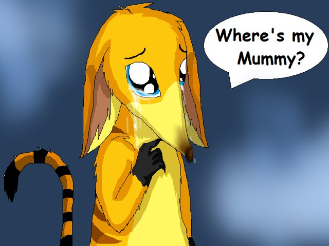 Where's My Mummy? by Angel Pursey