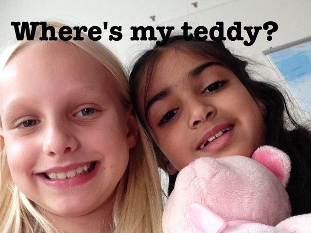 Where's My Teddy? by Cleophe Eliatamby