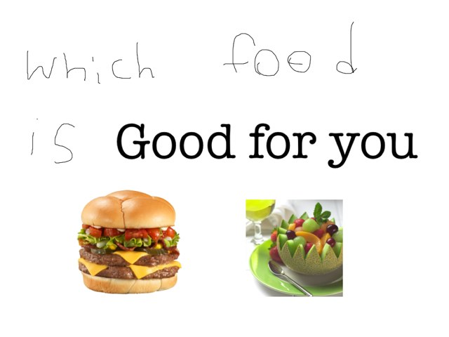 Which Food Is Good For You (1) by Wilma Coradyn