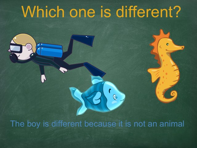 Which One Is Different? by David Llinares