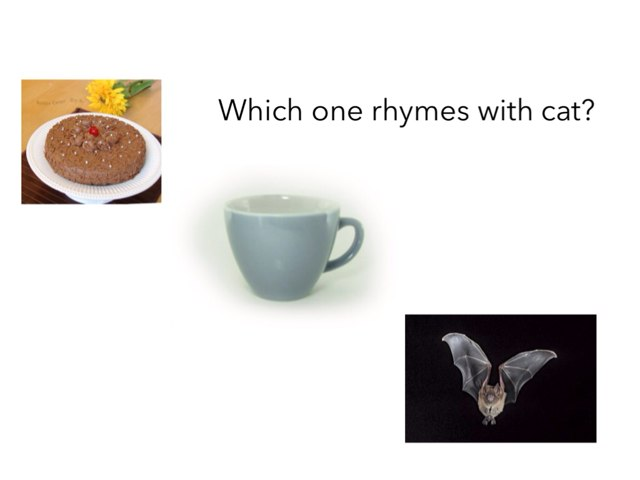 Which One Rhymes? by DeVere Bunke