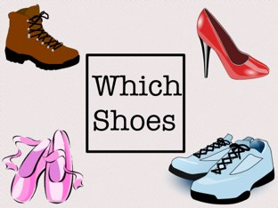 Which Shoes? by Nada Alalawi