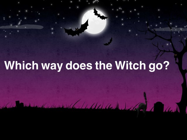 Which Way Is The Witch Going? by Ascension Kindergarten