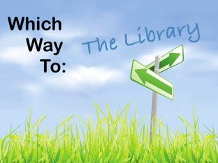 Which Way To: The Library by Darren Bishop