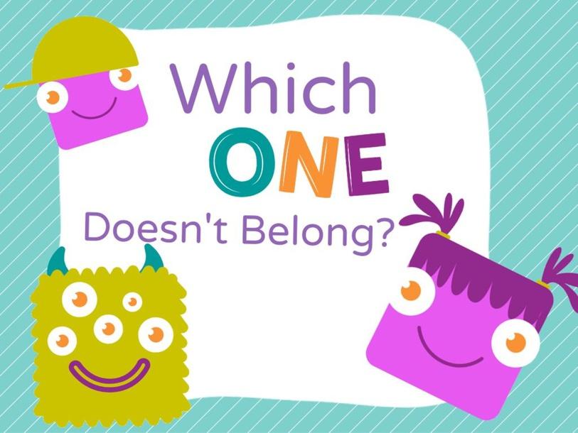 Which One Doesn't Belong? by Jennifer