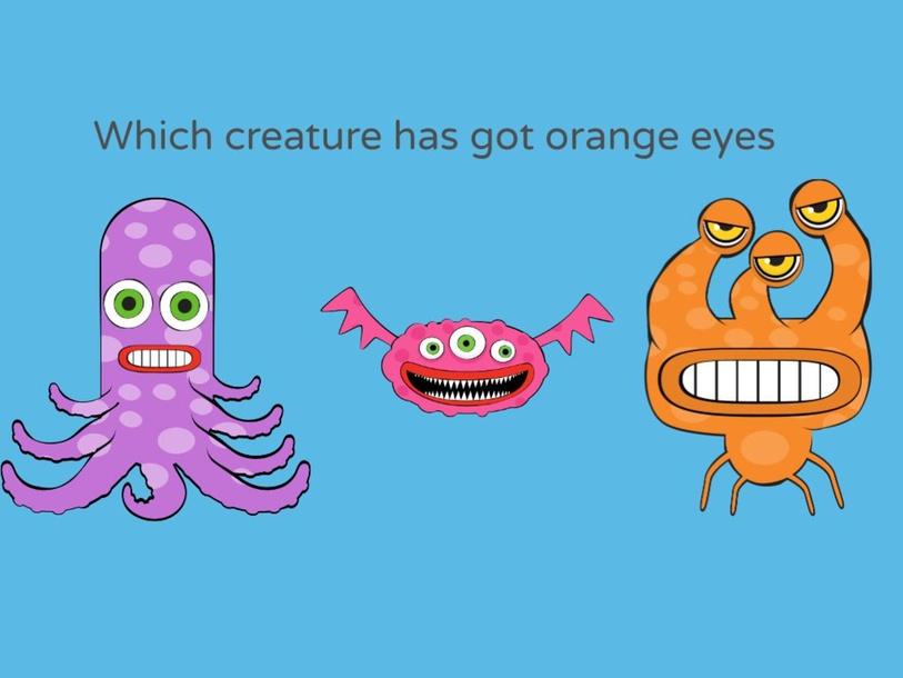 Which creature has got orange eyes by Mustafa PARASIZ