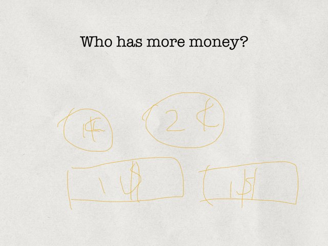 Who Is More Money?(easy) by Yvonne Ma