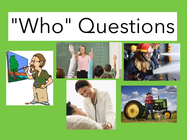 Who Questions by Janis Hayes-Strom