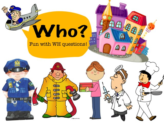 Who- WH Questions by Xueni Liang