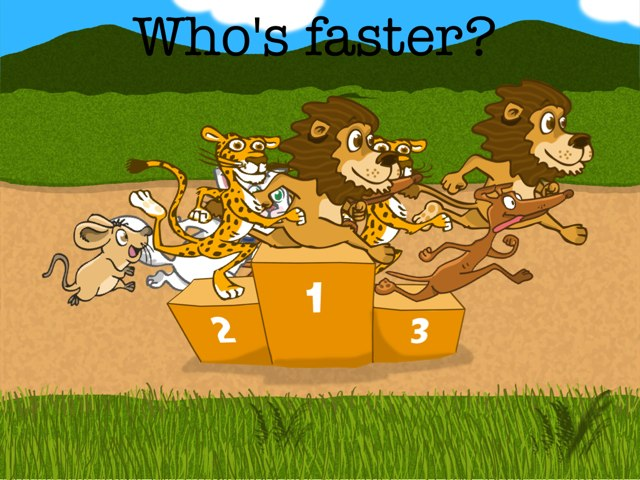 Who's Faster by Mats OpdeBeeck