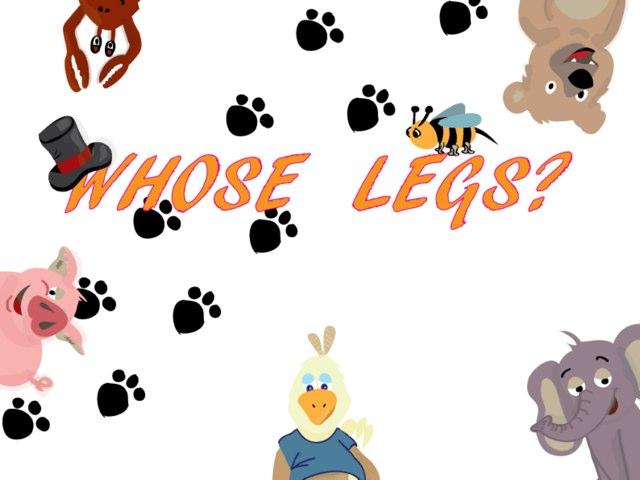 Whose Legs by Talia Katz