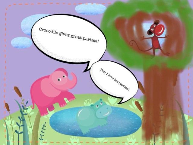 Why Crocodile Is Angry by Katrina Fabbri