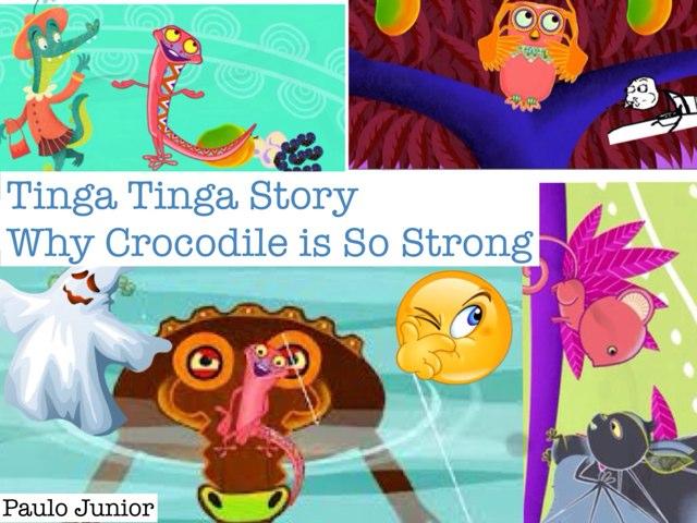 Why Crocodile Is So Strong  by Katrina Fabbri