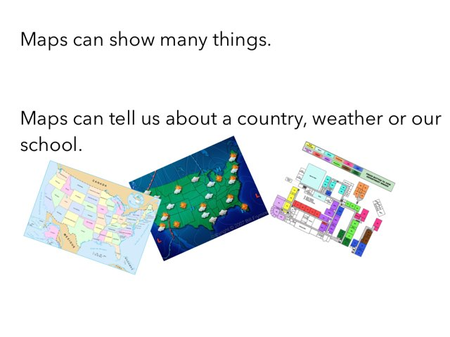 Why Maps? by TRacy snyder