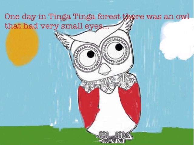Why Owl Has Big Eyes by Katrina Fabbri
