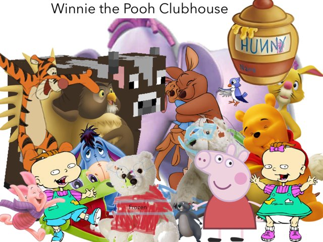 Winnie The Pooh Clubhouse My Friends Tigger And Pooh by George awrahim
