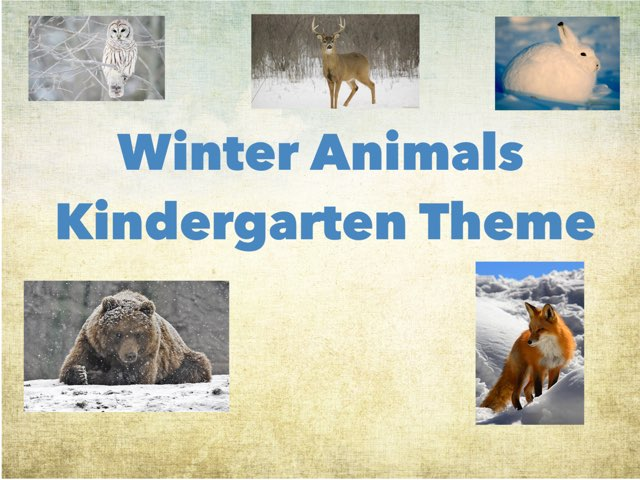 Winter Animals by Amy Hudgens