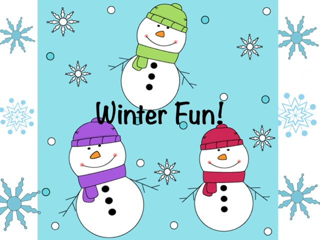 Winter Fun! by Ana Vivanco