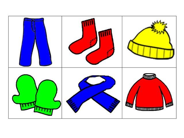 Afbeeldingsresultaat voor winterkleding tekening