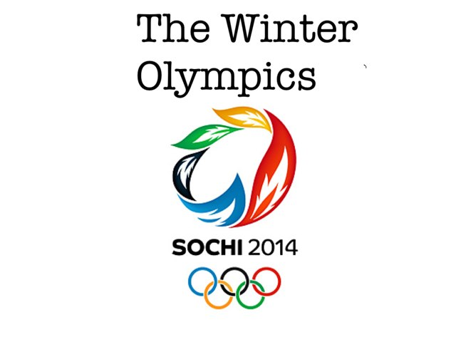Winter Olympics by Mindy Riechers