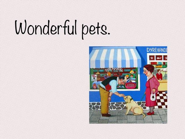 Wonderful Pets by Bente Andsbjerg