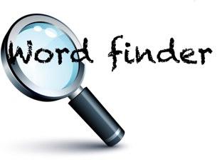 Word Finder by Belinda Job