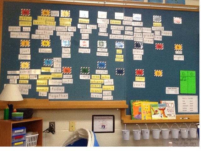 Word Wall Game by Melisa Scott
