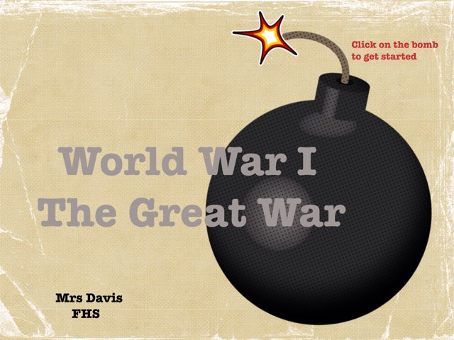 World War I  by Laura Davis