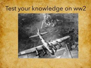 World War Two by Sarah martin
