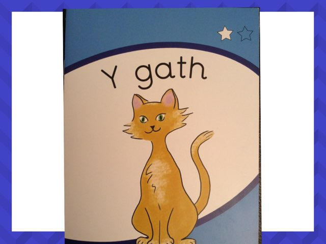 Y gath (llyfr glas) by Einir Owen