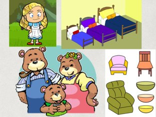 Year 1 Goldilocks And 3 Bears by Bradbury Pu
