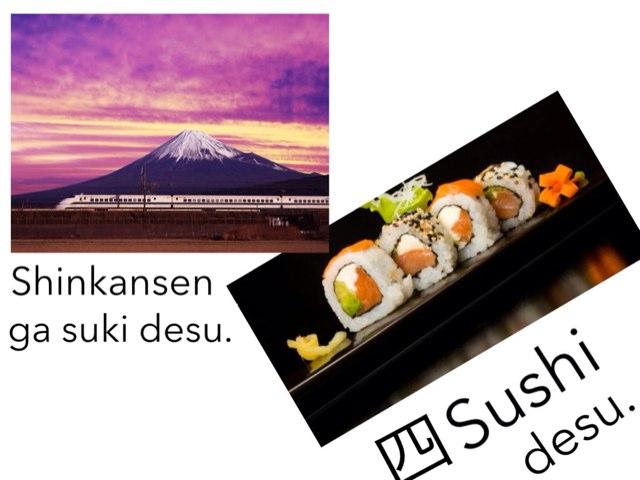 Year 1 Japanese quiz by Lauren Hunter