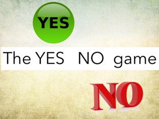 Yes No Game by Julie Gittoes-Henry