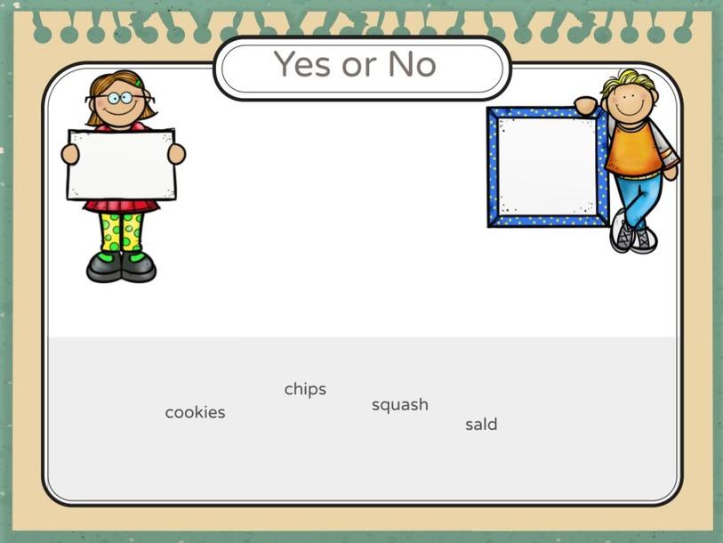 Yes or No by savannah dixon