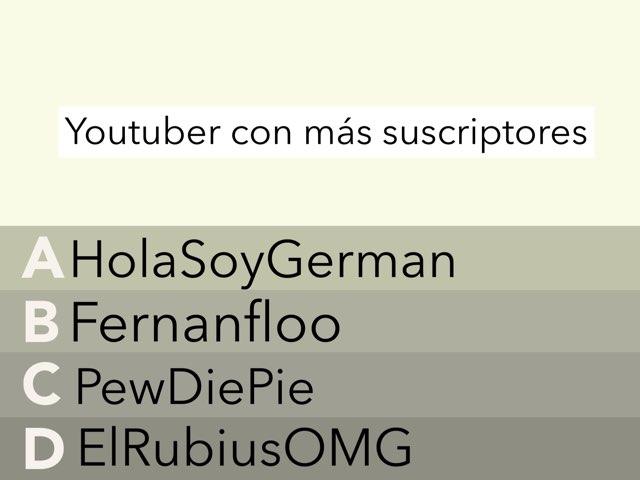 YouTube by Nicolas cervantes