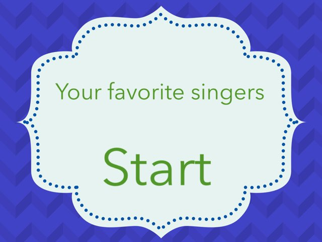 Your Favorite Singers by Ainsley