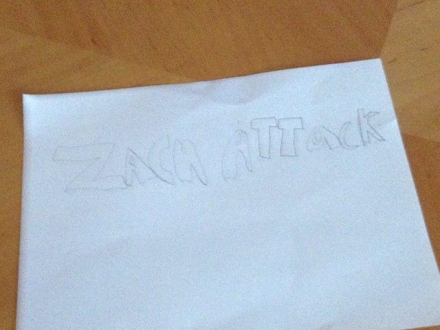 Zach Attack by Karen Blacher