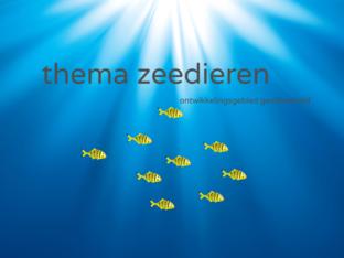 Zeedieren ( ontwikkelingsgebied gecijferdheid) by Marian van Roosmalen