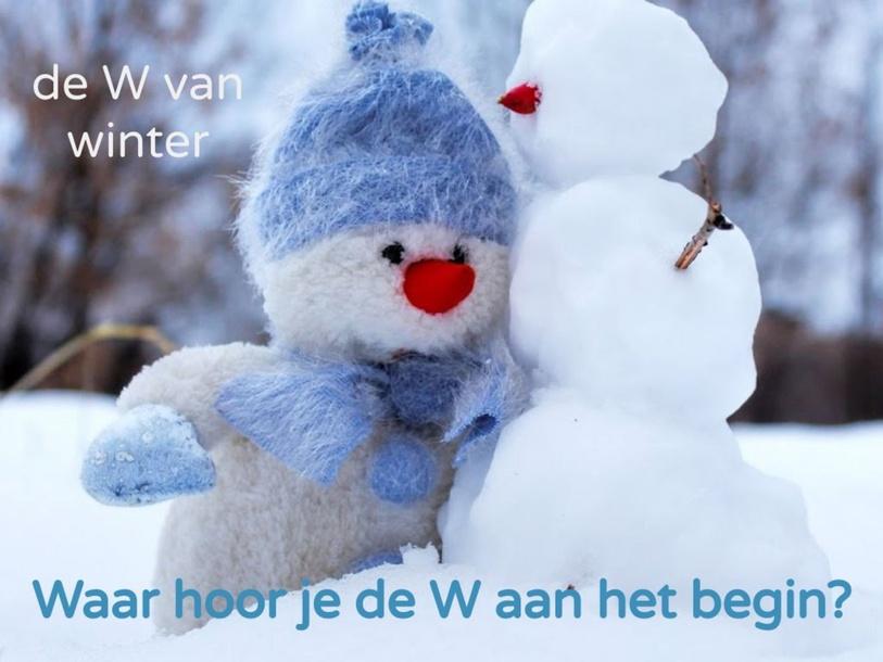 Zoek woorden met de W aan het begin by Brigitte van der Heide