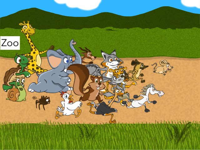 Zoo Catch by Trish Castleman