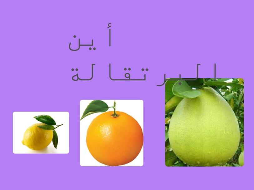 الحمضيات by shadiaa zedan