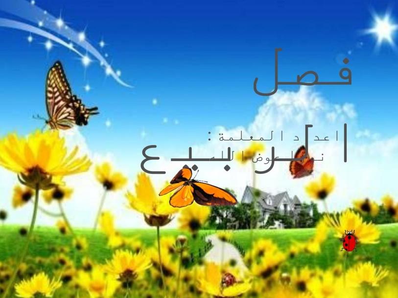 فصل الربيع by Noura Muneer