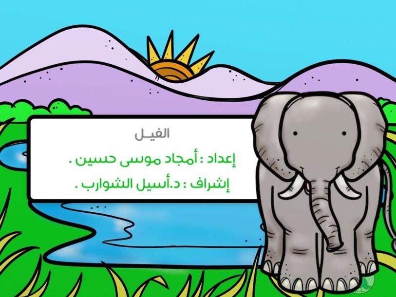 الفيل  by Amjad Mousa