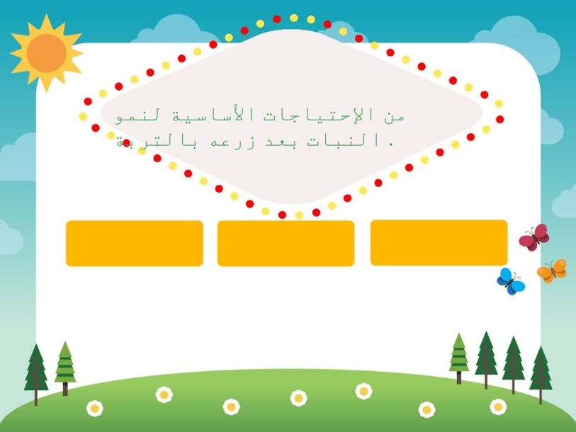 الأعتناء بالتبات by samah hassan