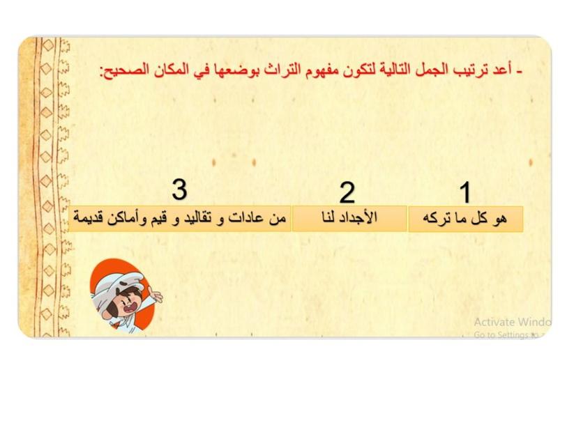 مفهوم التراث by Eiman Alhabshi